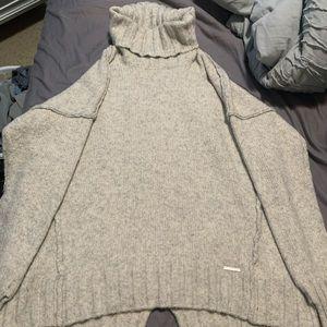 Michael Kors oversized turtleneck sweater